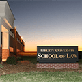 Liberty University School of Law Logo