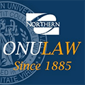 The Ohio Northern University Pettit College of Law Logo