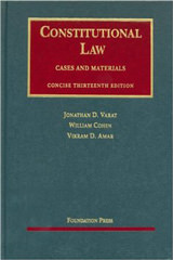 Constitutional Law Concise Edition (University Casebooks)