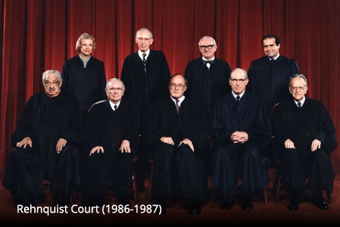 Rehnquist Court (1986-1987)