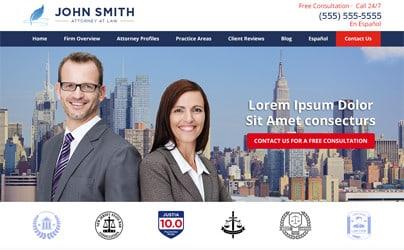 On website