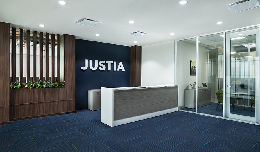 Justia Offices -  Lobby