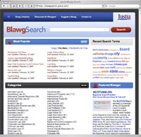Justia Company - Blawgsearch