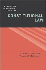 The Oxford Introductions to U.S. Law Constitutional Law