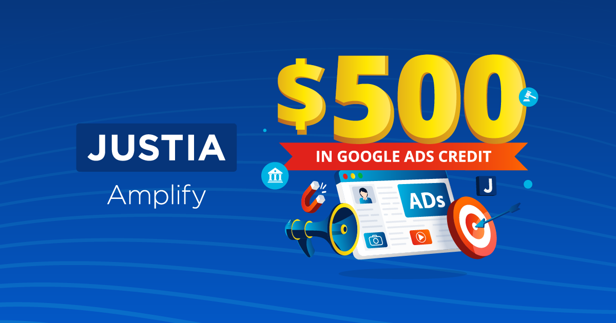 Sign Up for Justia Amplify PPC Management and Get a Gift From Justia