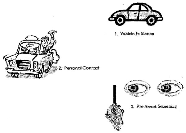 DWI Detection Phases