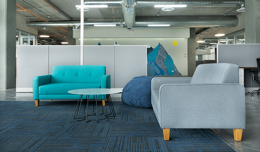 Justia Offices - Lounge area