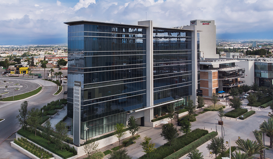 Justia Offices - Building (aerial view)