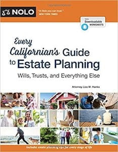 Cover of Every Californian's Guide To Estate Planning: Wills, Trust & Everything Else